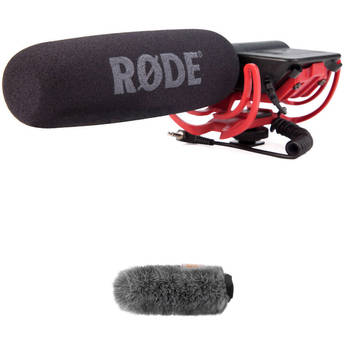 Rode VideoMic and Fuzzy Windbuster Kit