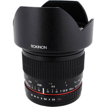 Rokinon 10mm f/2.8 ED AS NCS CS Lens for Canon EF Mount