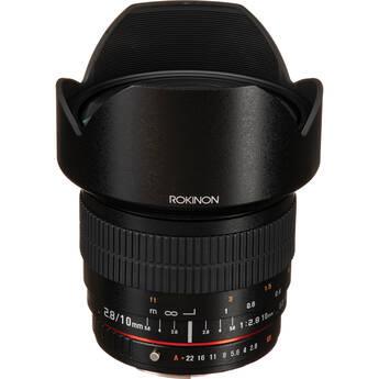 Rokinon 10mm f/2.8 ED AS NCS CS Lens for Pentax K Mount