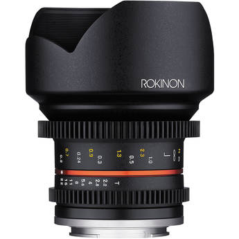 Rokinon 12mm T2.2 Cine Lens for Canon EF-M Mount