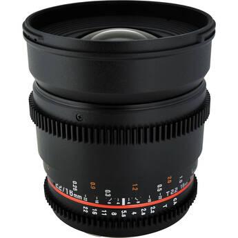 Rokinon 16mm T2.2 Cine Lens for Nikon F