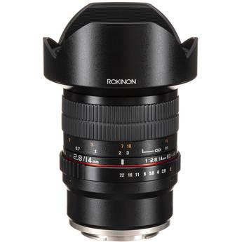 Rokinon 14mm f/2.8 ED AS IF UMC Lens for Sony E Mount