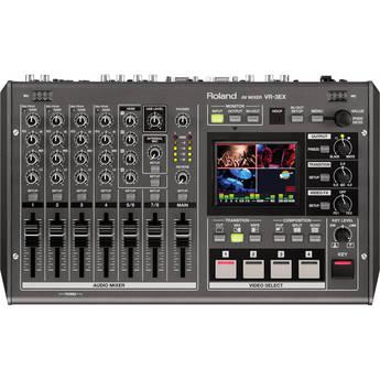 Edirol / Roland VR-3EX SD/HD A/V Mixer with USB Streaming