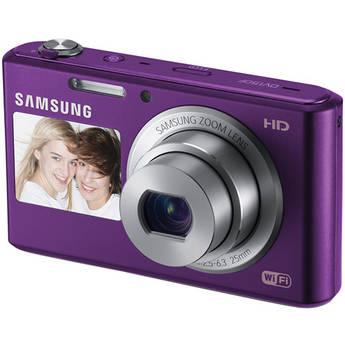 Samsung DV150F Dual-View Smart Digital Camera (Plum)