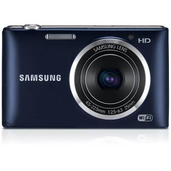 Samsung ST150F Smart Digital Camera (Cobalt Black)