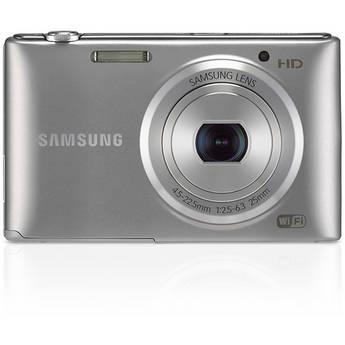 Samsung ST150F Smart Digital Camera (Silver)