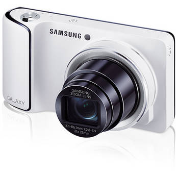Samsung GC110 Galaxy Digital Camera (White)