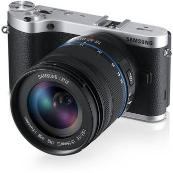 Samsung NX300 Mirrorless Digital Camera with 18-55mm f/3.5-5.6 OIS Lens (Black)