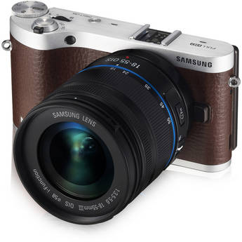 Samsung NX300 Mirrorless Digital Camera with 18-55mm f/3.5-5.6 OIS Lens (Brown)