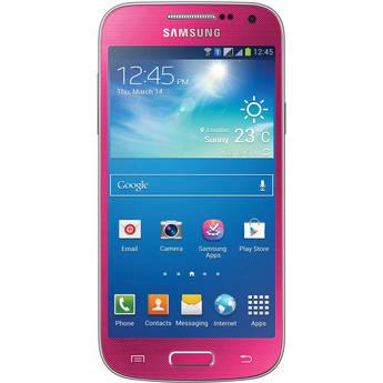 Samsung Galaxy S4 Mini GT-I9195 International 8GB Smartphone (Unlocked, Pink)