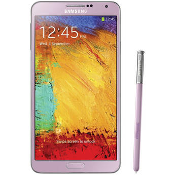 Samsung Galaxy Note 3 N9000 32GB Smartphone (Region Specific Unlocked, Pink)