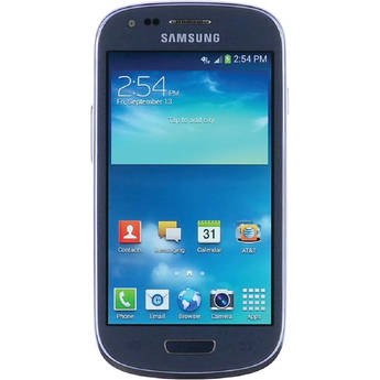 Samsung Galaxy S III Mini SM-G730A 8GB AT&T Branded Smartphone (Unlocked, Blue)