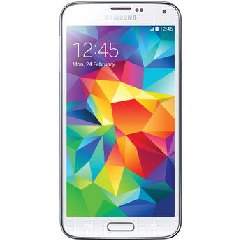 Samsung Galaxy S5 SM-G900H 16GB Smartphone (Region Specific Unlocked, White)