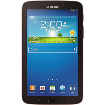 """Samsung 8GB Galaxy Tab 3 Multi-Touch 7.0"""" Tablet (Wi-Fi Only, Gold Brown)"""