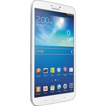 """Samsung 16GB Galaxy Tab 3 Multi-Touch 8.0"""" Tablet (Wi-Fi Only, White)"""