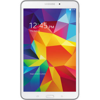 "Samsung 16GB Galaxy Tab 4 Multi-Touch 8.0"" Wi-Fi Tablet (White)"