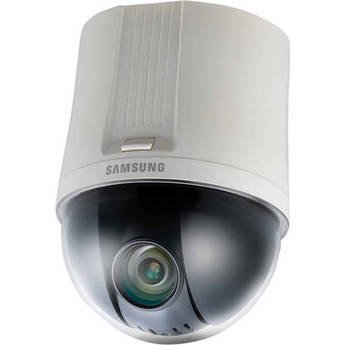 Samsung SNP-6200 2 Mp Full HD 20x PTZ Indoor Dome Network Camera (Ivory/NTSC)