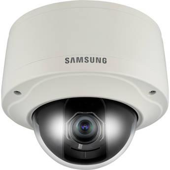 Samsung SNV-3082 Vandal-Resistant Network Dome Camera (Ivory)