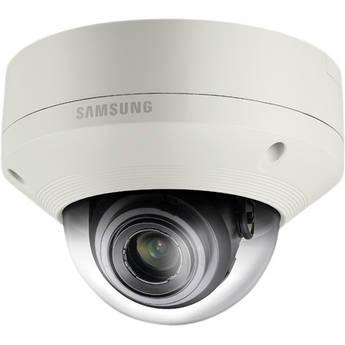 Samsung SNV-6084 2 Mp 1080p Full HD Vandal-Resistant Network Dome Camera with Built-In Motorized Varifocal Lens