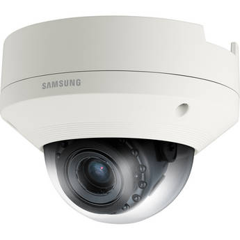 Samsung SNV-6084R 2 MP 1080p Full HD Vandal-Resistant Network IR Dome Camera with Built-In Motorized Varifocal Lens
