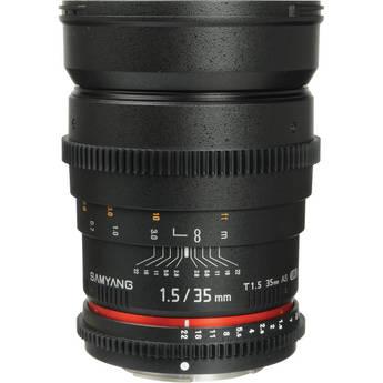 Samyang 35mm T1.5 Cine Lens for Sony E