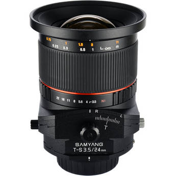 Samyang 24mm f/3.5 ED AS UMC Tilt-Shift Lens for Sony Alpha