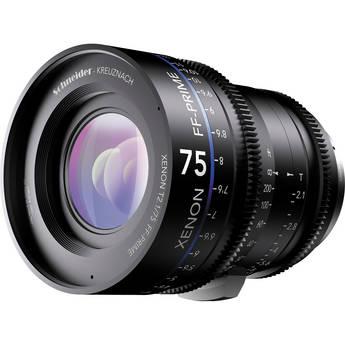 Schneider SCPXN2.175FC Xenon FF 75mm T2.1 Prime Lens (Canon EF Mount)