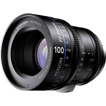 Schneider Xenon FF 100mm T2.1 Prime Lens (Canon EF Mount)