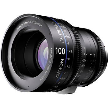 Schneider Xenon FF 100mm T2.1 Prime Lens (ARRI PL Mount)