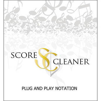 ScoreCleaner ScoreCleaner - Plug and Play Notation Software (Academic 10 Seat License)