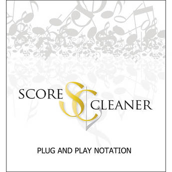 ScoreCleaner ScoreCleaner - Plug and Play Notation Software (Full License)