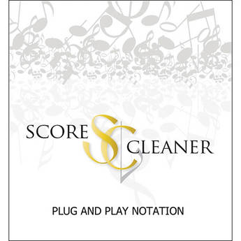 ScoreCleaner ScoreCleaner - Plug and Play Notation Software (Boxed)