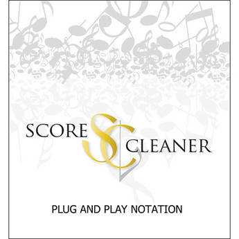 ScoreCleaner ScoreCleaner - Plug and Play Notation Software (Student License)