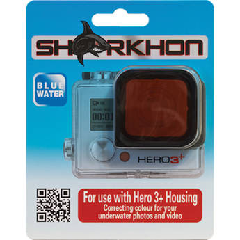 Sharkhon CF-H3P Red Filter for GoPro HERO3+ Housing