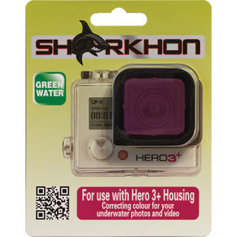 Sharkhon MCF-H3P Magenta Filter for GoPro HERO3+ Housing