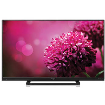 "Sharp LC-50LE450M 50"" Full HD AQUOS Multisystem LED TV (Black)"