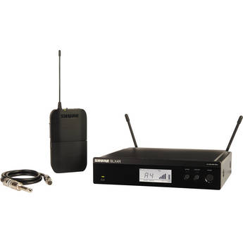 Shure BLX14R Bodypack Wireless System for Guitar or Bass (J10: 584 - 608 MHz)