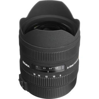 Sigma 8-16mm f/4.5-5.6 DC HSM Ultra-Wide Zoom Lens for Sony/Minolta Digital SLR
