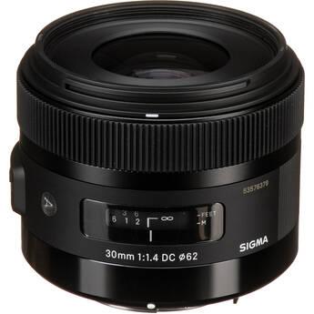 Sigma 30mm f/1.4 DC HSM Lens for Pentax DSLR Cameras