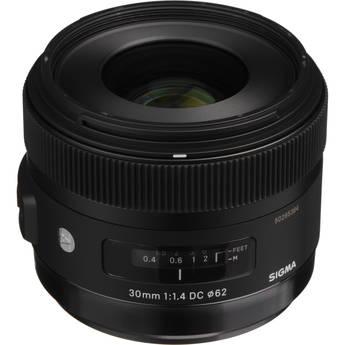 Sigma 30mm f/1.4 DC HSM Lens for Sony DSLR Cameras