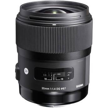 Sigma 35mm f/1.4 DG HSM Lens for Sony DSLR Cameras