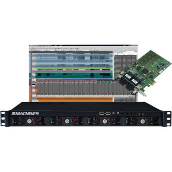 Solid State Logic 128-Channel DAW Recorder/Player with Direct MADI to Console Connectivity