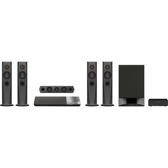 Sony BDV-N7200W 5.1-Channel 1200W 3D Smart Blu-ray Home Theater System
