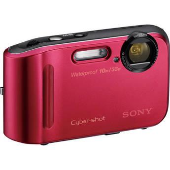 Sony Cyber-shot DSC-TF1 Digital Camera (Red)