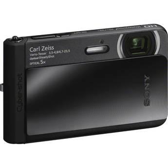 Sony Cyber-shot DSC-TX30 Digital Camera (Black)