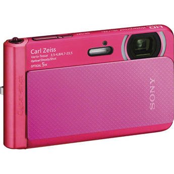 Sony Cyber-shot DSC-TX30 Digital Camera (Pink)