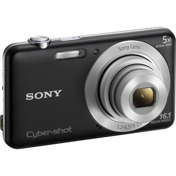 Sony Cyber-shot DSC-W710 Digital Camera (Black)