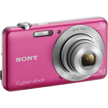Sony Cyber-shot DSC-W710 Digital Camera (Pink)