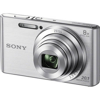 Sony DSC-W830 Digital Camera (Silver)