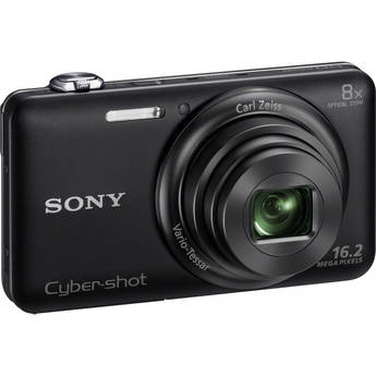 Sony Cyber-shot DSC-WX80 Digital Camera (Black)